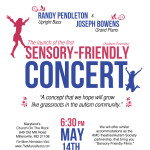 Sensory-Friendly Concert, 5-14-11  Millersville, MD.  Join us!!