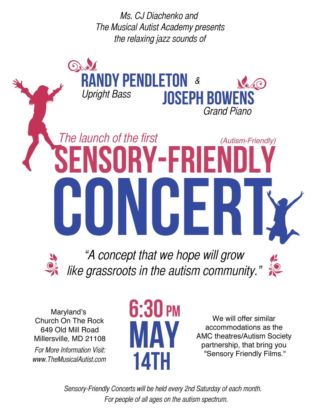The Launch of Sensory-Friendly Concert Series around the world!