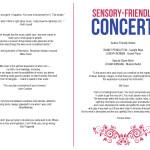 Sensory-Friendly Concert Series Program