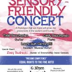 4 days until the next Sensory-Friendly Concert, Aug.13th!