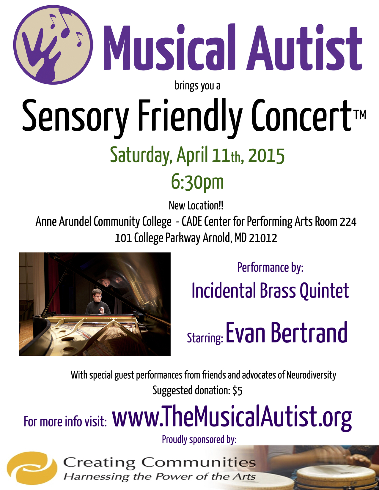 Sensory Friendly Concerts For Autism Acceptance Month The Musical