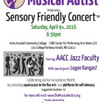 Our next Sensory Friendly Concert in Maryland